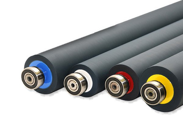 Manufacturer of Rubber Rollers, Industrial Rubber Roller, Silicone Rubber Roller in Ahmedabad